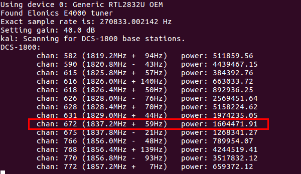 Passive GSM sniffing with Software defined radio - payatu
