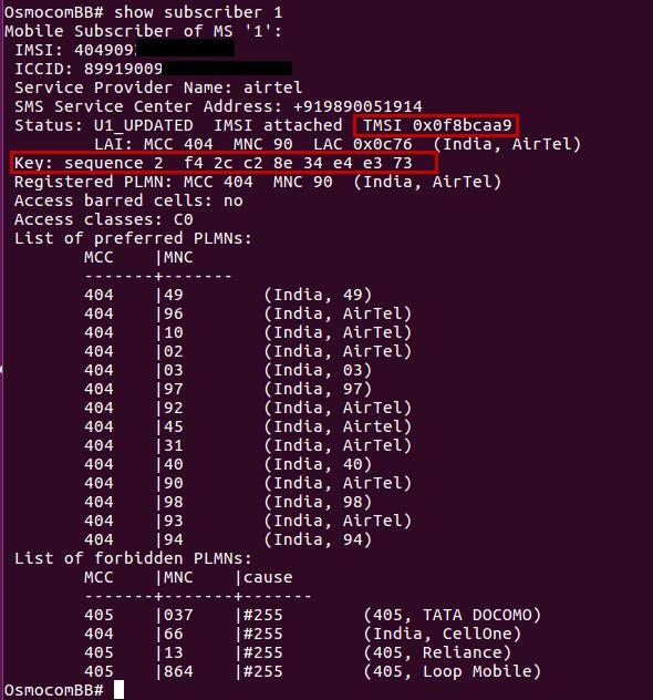 Active analysis of a GSM call through osmocom-bb - payatu